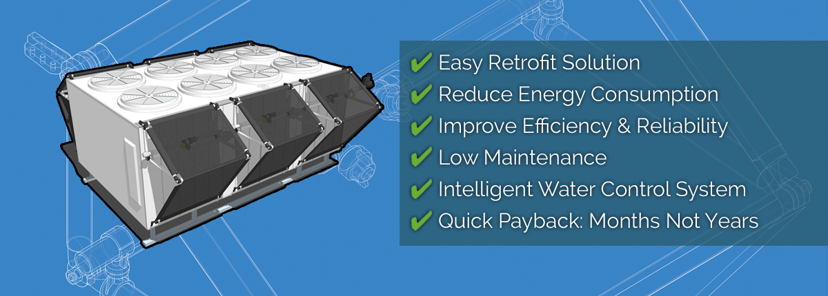 Easy Retrofit Solution, Reduce Energy Consumption and Low Maintenance